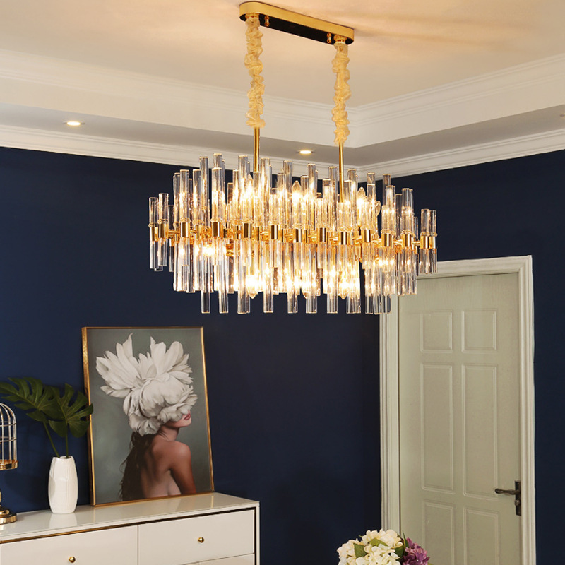 Beaded Large Round ChandelierofApplicantion Dining Room Crystal Chandeliers