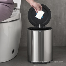 9L touchless garbage bins sensor trash bin stainless Steel trash cans with electronic sensor
