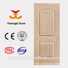 Interior best price wooden HDF moulding doors