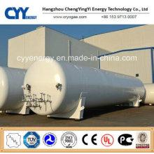 Réservoir de stockage d'eau de GNL LPG de dioxyde de carbone d'argon d'azote liquide d'oxygène