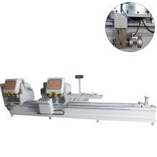 pvc & aluminum profile cnc cutting saw machine for 45 degree