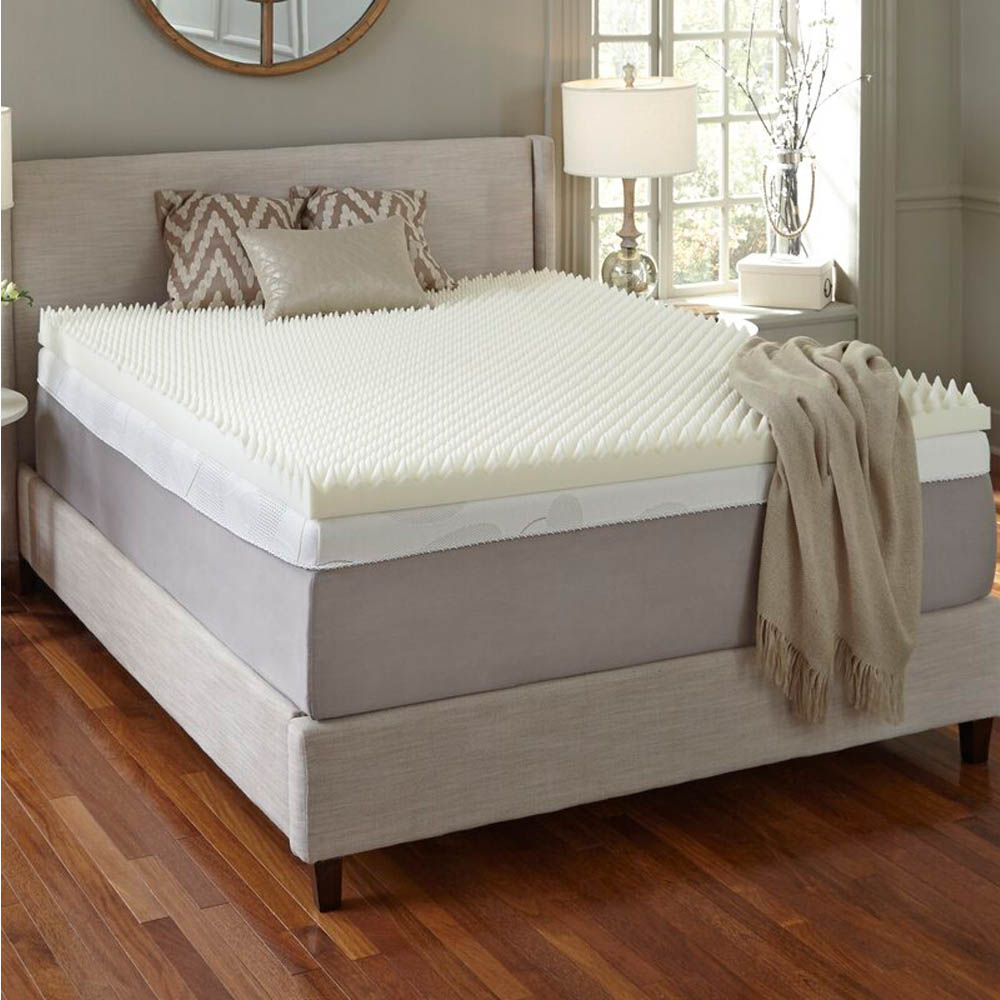 Full Size Egg Crate Mattress Topper
