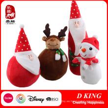 Juguete de felpa relleno de Navidad para niños