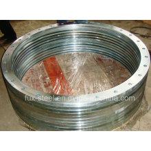 Awwa C207 Plattenflansch-Stahlring