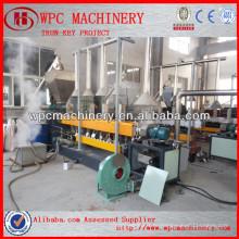 Машина для производства гранулированных древесных пластиков