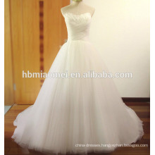 Suzhou custom made winter floor lenght off shoulder girls wedding dress with tail