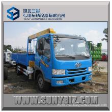 6.3tons Crane Truck 160HP Faw J5k 4X2 Truck Mounted Crane