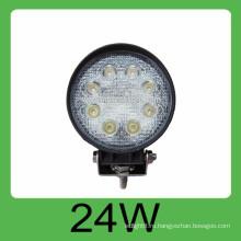 24w DC10-30V 2160LM автоматическая светодиодная рабочая лампа