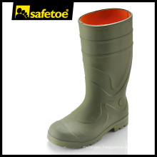 China steel toe PVC safety rain boots Y-6041