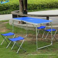 Fashion Camping Desk Blue Table Dining Table