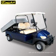 48V elektrischer Kraftstofftyp CE preiswerter Golfwagen für Verkauf mit Frachtbett