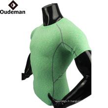 uniformes de compression vierges en gros chemise de compression colorée conception personnalisée bon vêtements sublimatedfitness
