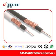 Cable coaxial de 75 ohmios Rg6u