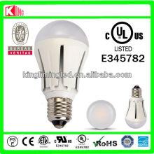 UL Dimmable E27 5W/7W Globle Bulb