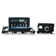 Sistema multimedia 6.0 os car, fábrica directamente! Quad core, GPS, radio, bluetooth para mazda atenza