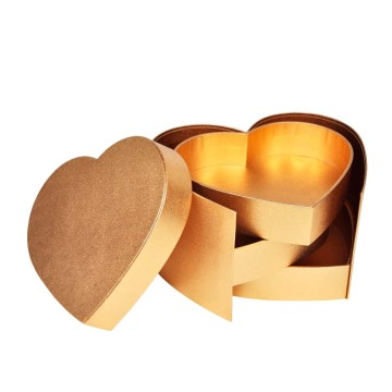 Special Lovely Heart Shaped Gift Box With Lid
