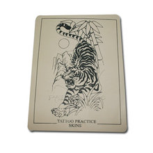 Tout nouveau tigre tatouage pratique peaux Tattoo Body Art avec fesses vierges