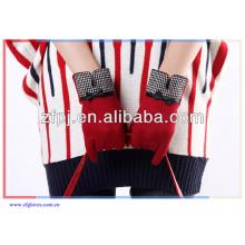 Heißer Verkaufsart und weisedame Winter woolen Handschuh