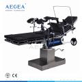 AG-OT013 Colchón negro hospital manual tablas de cirugía hidráulica fabricante