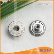Bouton en métal, boutons Jean personnalisés BM1354