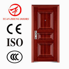 Wooden Color Steel Security Door in China