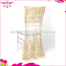 luxury sequin chair cover chair sashes