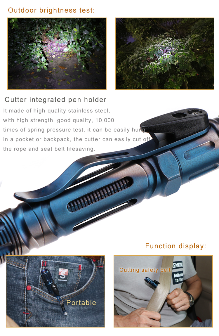 Tactical Survival Pen