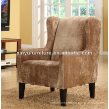 Vintage fabric hotel arm chair for lobby XY2610