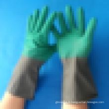 Gant de ménage à manchette en latex à manchette longue gant de nettoyage à l'eau
