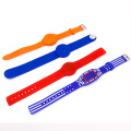 Silicone rfid wristbands for events identity verification