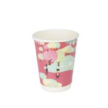 Customized Print Logo Plastic free tea disposable cups
