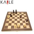 El mejor juego de ajedrez de madera con dobleces magnéticos