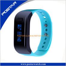 Bunte Strap Pedometer Smart Mobile Armbanduhr Telefon a + Qualität