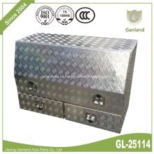 Алюминиевая тележка для инструментов с ящиками