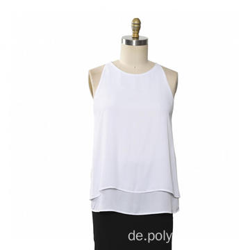 Damen Top Rundhals