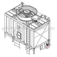 Cross Flow Geschlossener Kühlturm JNC-160T02