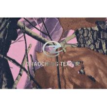 100% 2/2 Pink Bottom Forest Camou Хлопковая ткань для жилета (ZCBP262)