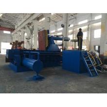Aluminiumspäne Stahlspäne Recycling Ballenpresse