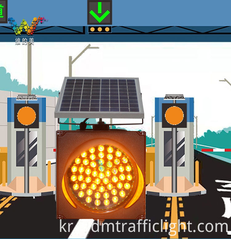traffic solar warning light_01