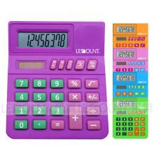 8 chiffres Calculatrice de bureau pour étudiants / enfants avec grande salle pour le numéro de classe (LC289B)