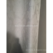Neue Ankunft moderner kurzer Art 100% Polyester Blumenkohl-wie Jacquardwebstuhl Vorhang u. Vorhanggewebe