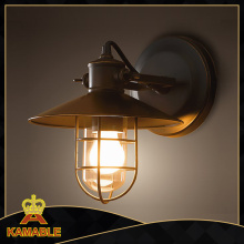 Modern Black Iron Wall Lamps (w2011)