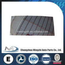 bus parts side mirror glass for bus sheet glass prices mirror 550*250*3mm R1800 CR HC-M-3117