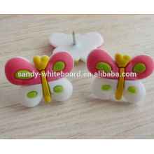 Colorful butterfly soft board pins