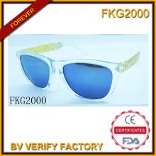 Trans-grün Rahmen Sonnenbrillen für Kinder (FKG2000)