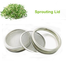 Silver 304 Stainless Steel Home Sprouting System filter disc metal Sprouting Screens