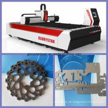 Metall-Laserschneidmaschine für Kupfer- und Kartonstahl (GS-3015)