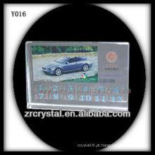 Cristal de foto de impressão colorida Y016