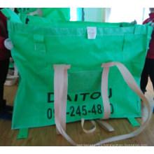 Green Body PP Big Woven Bag