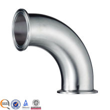 4 Inch Stainless Steel Sanitary Pipe Fitting 2 CMP Clamped Elbow Schedule 10 for Chemical Industry